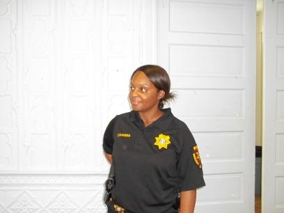 Sgt. Candice Burgess